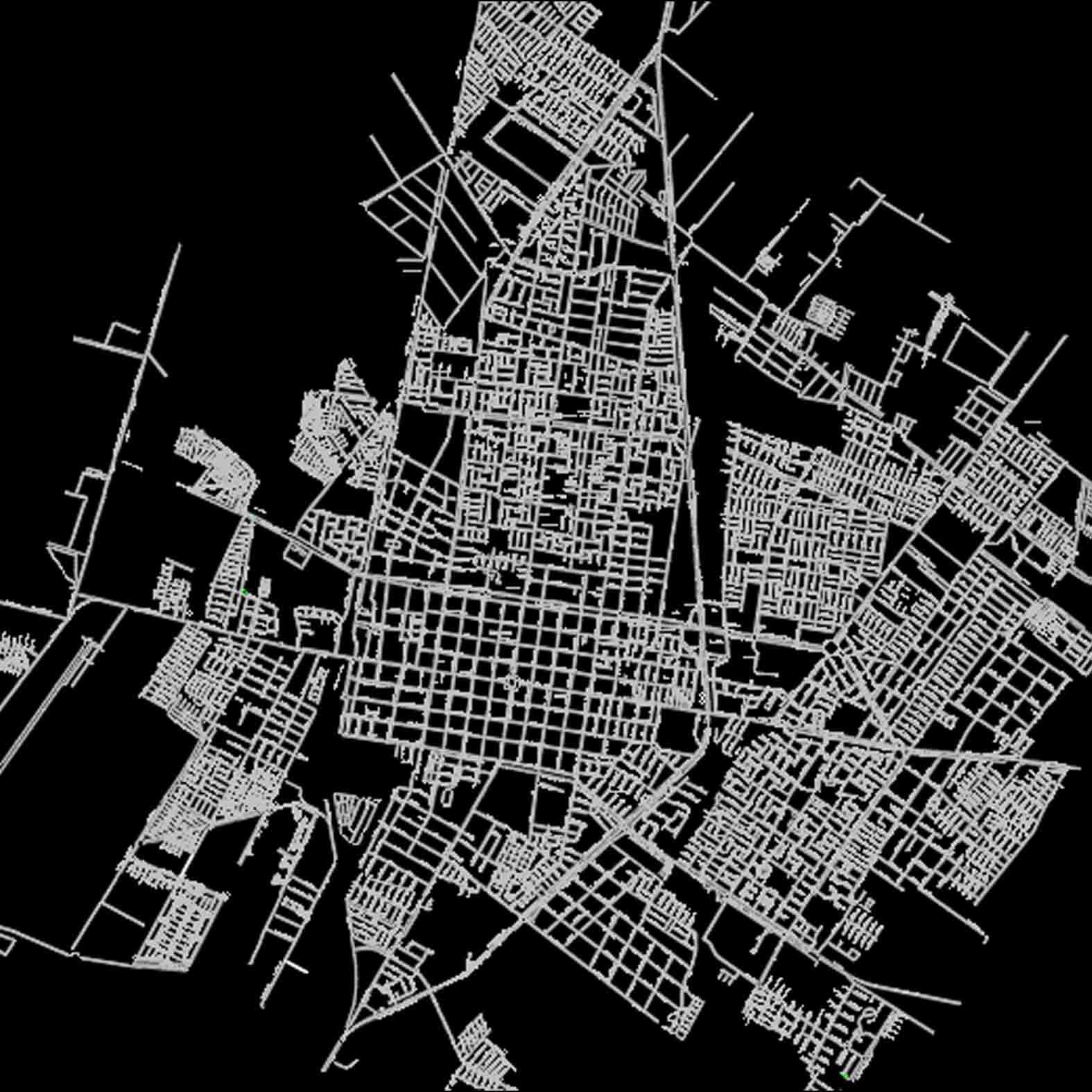 Plano: Ciudad de Rancagua / Vialidad