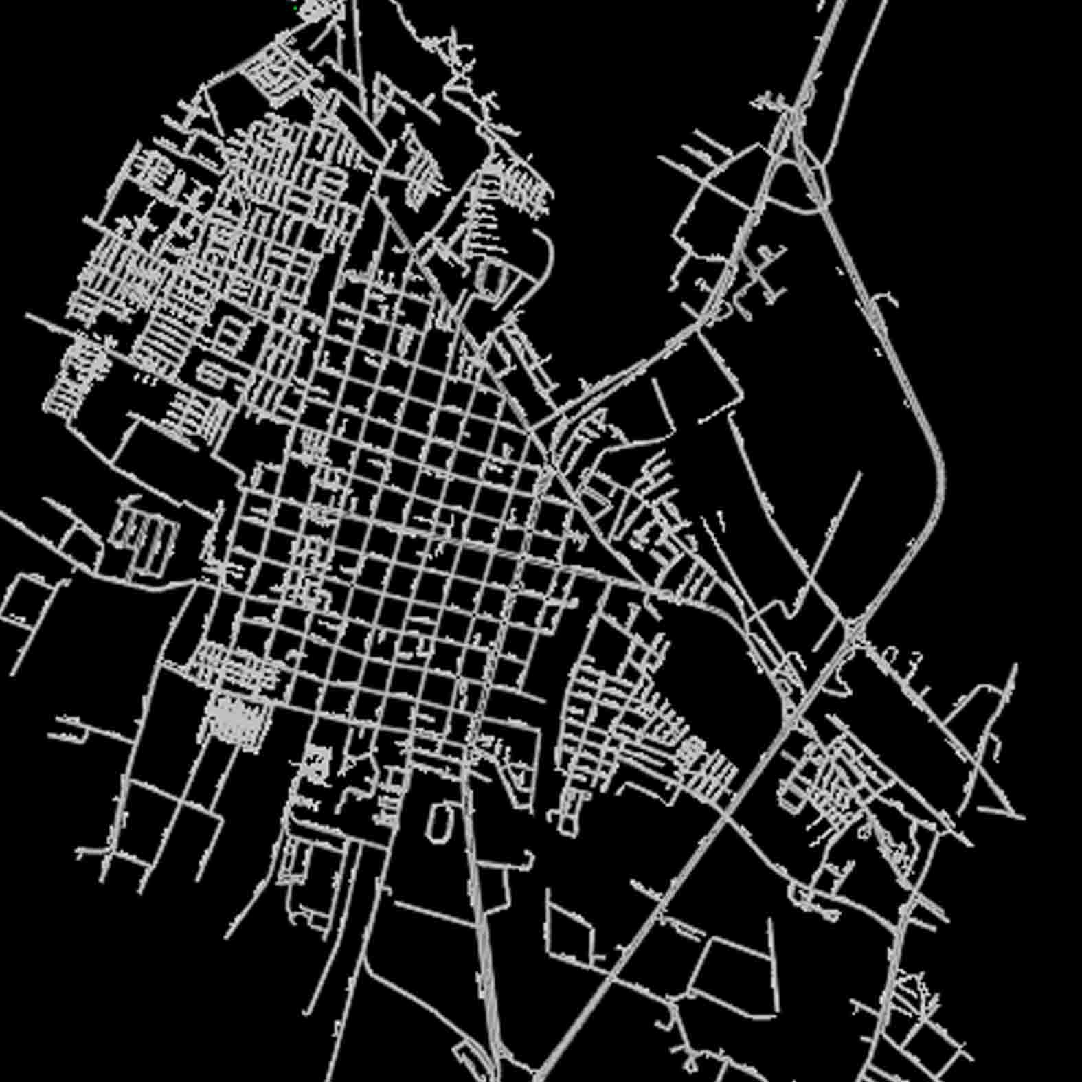 Plano: Ciudad de San Fernando / Vialidad