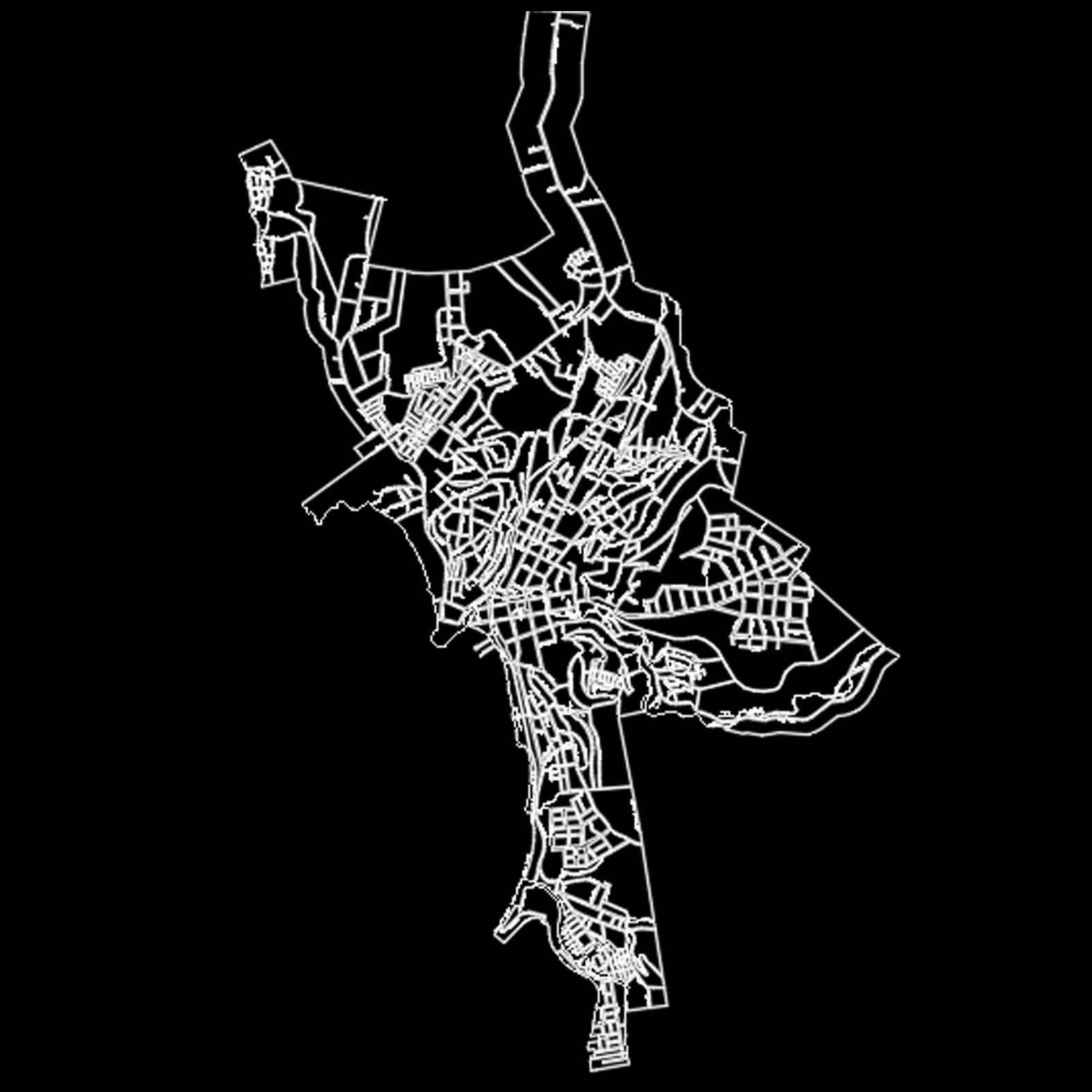Plano: Localidad de Tomé