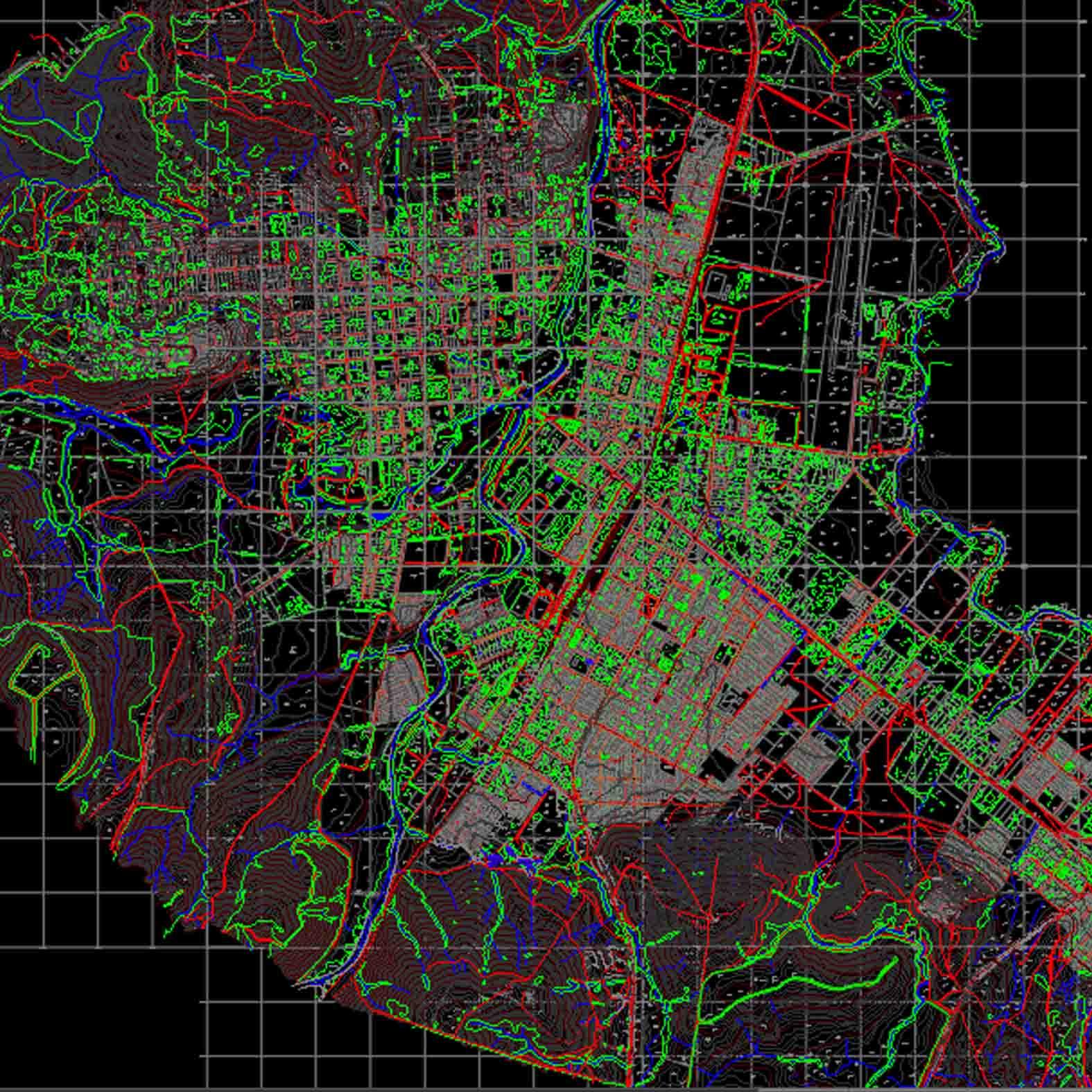 Plano: Ciudad de Angol