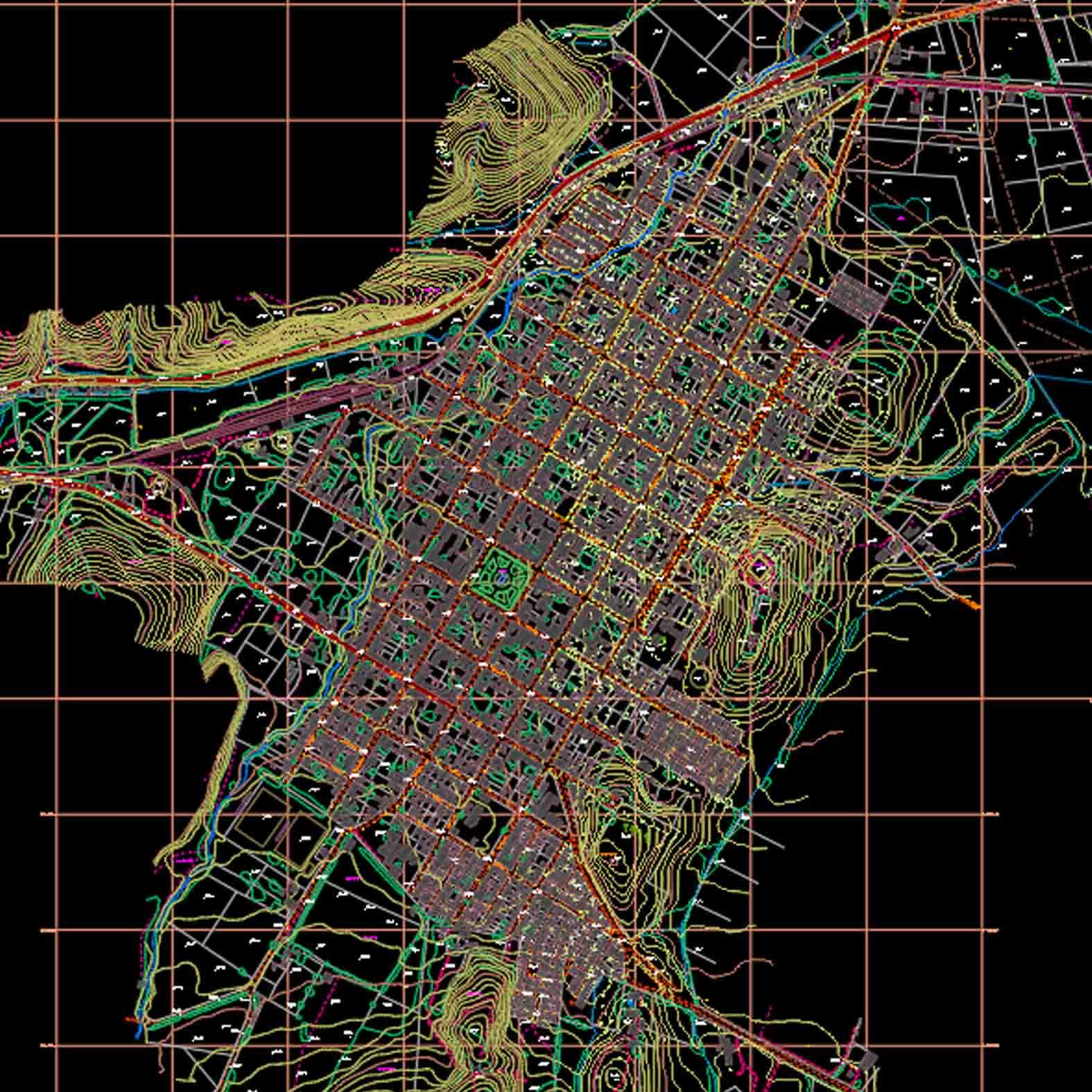 Plano: Ciudad de Purén