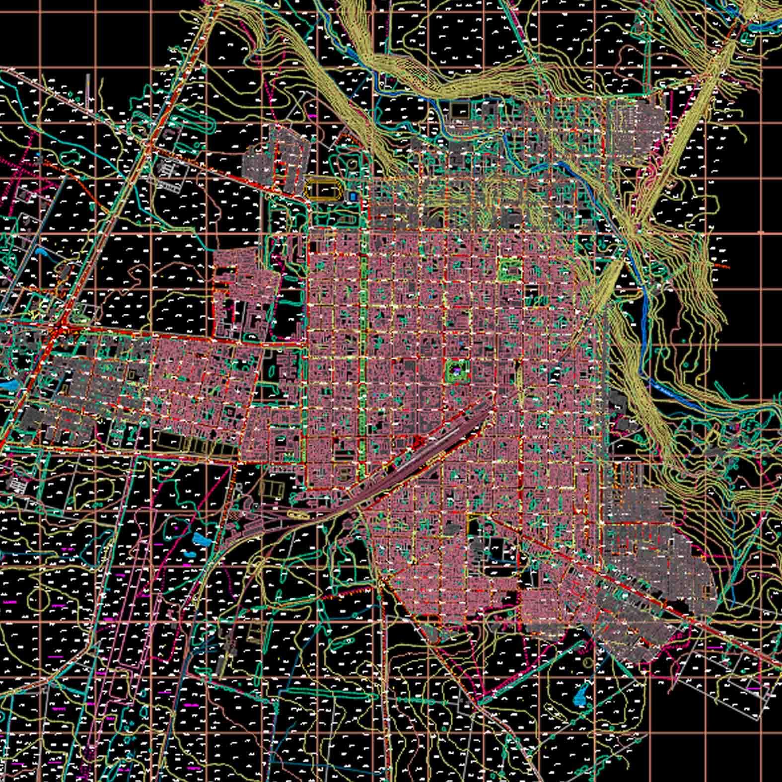 Plano: Comuna de Victoria