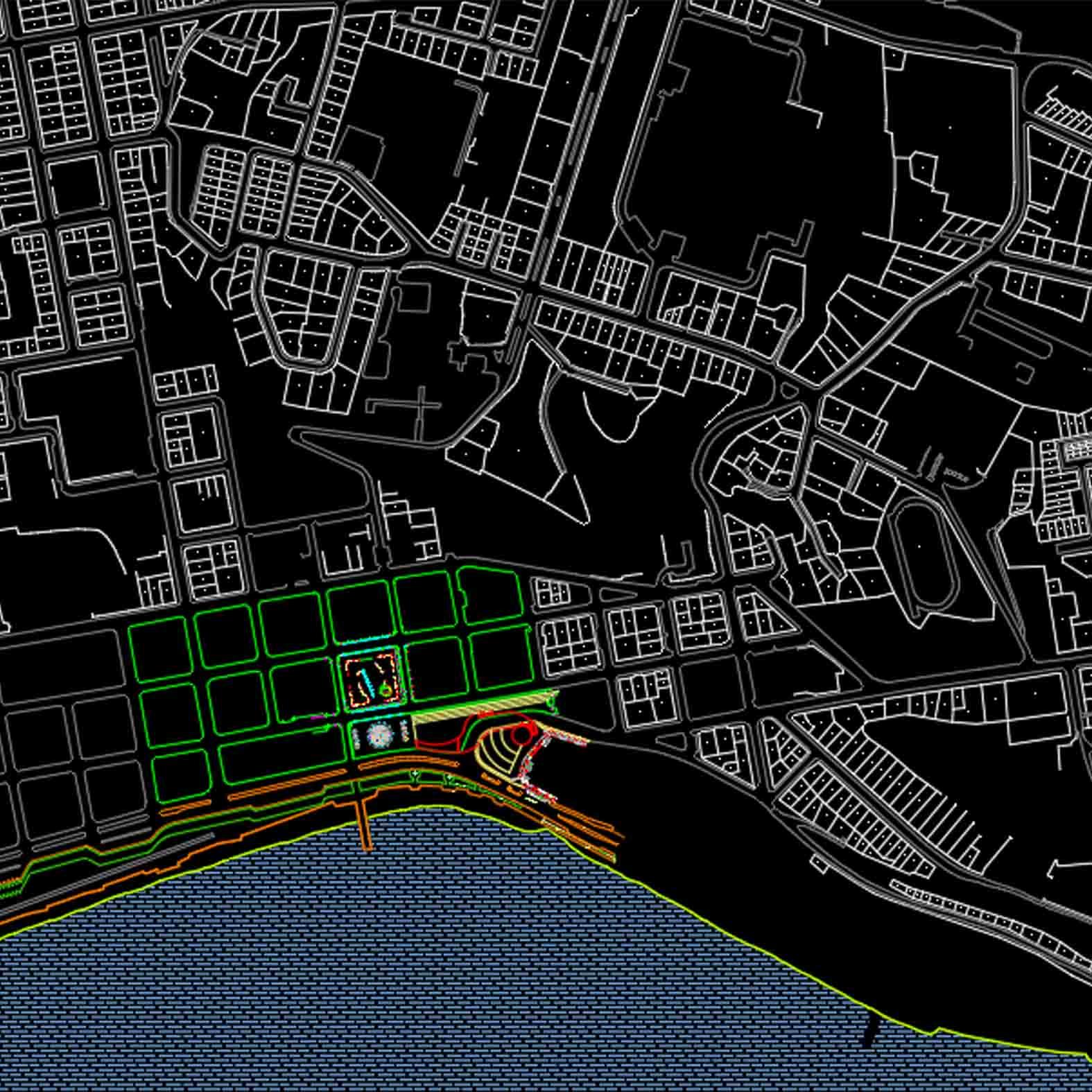 Plano: Ciudad de Puerto Montt - Centro Urbano