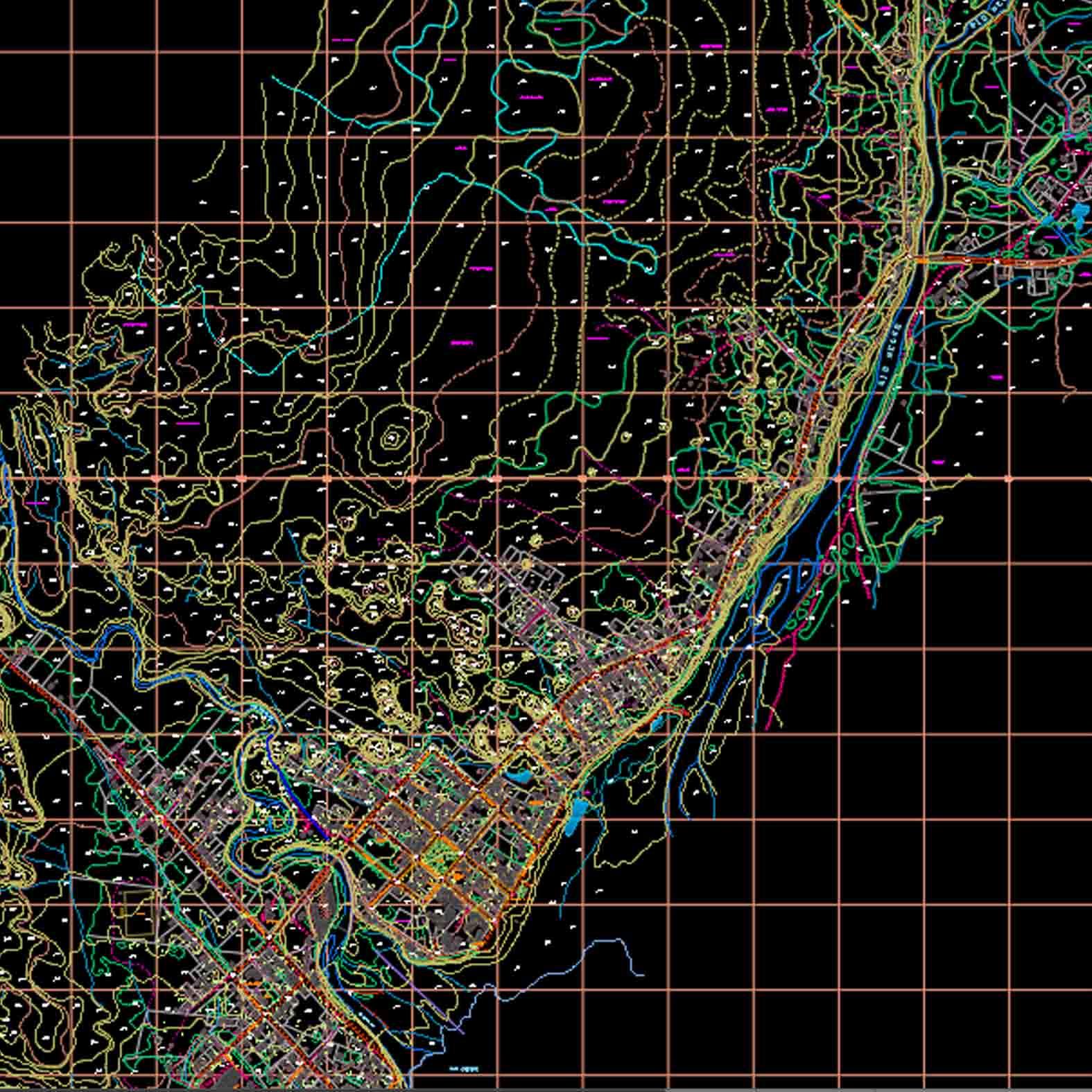 Plano: Localidad de Hornopirén