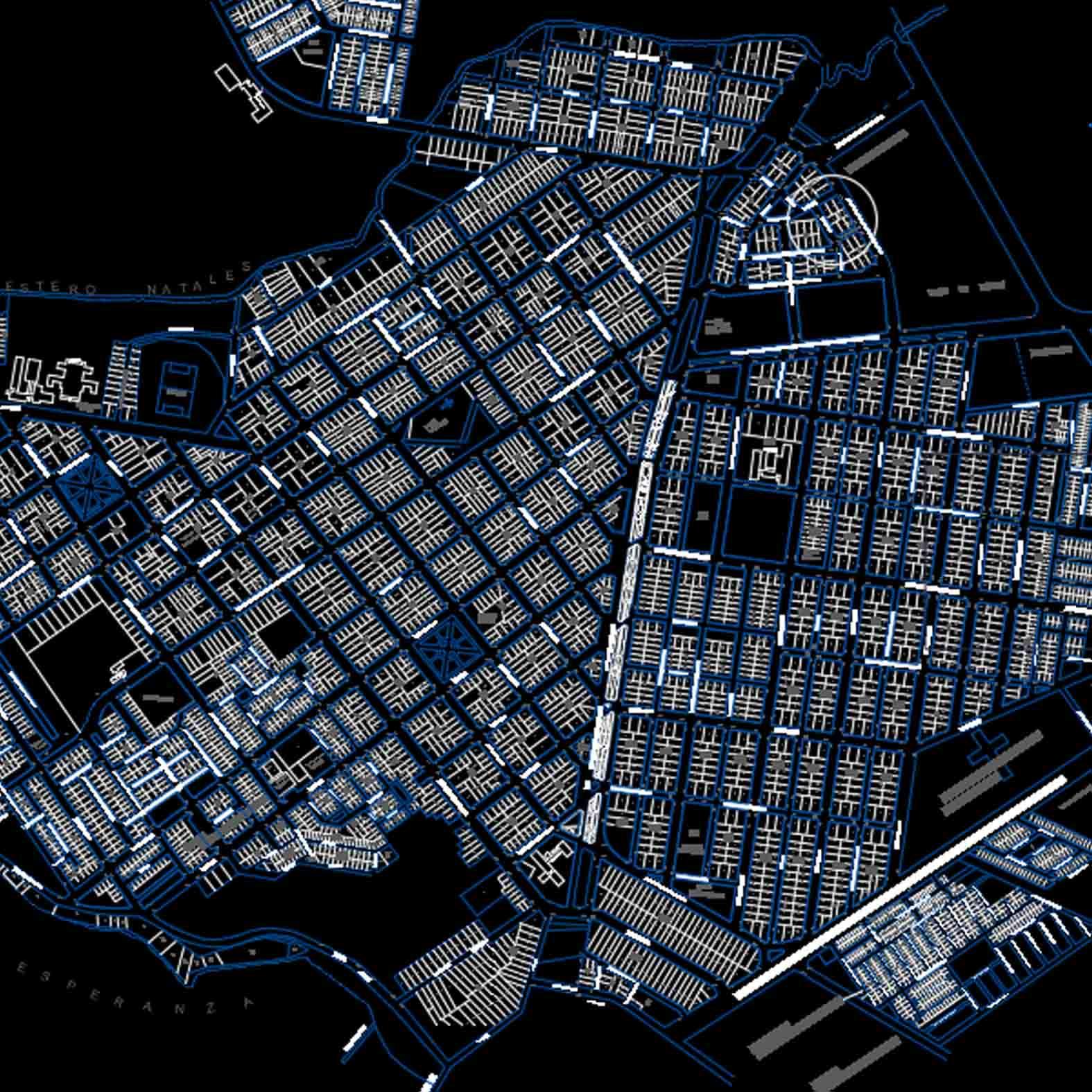 Plano: Ciudad de Puerto Natales