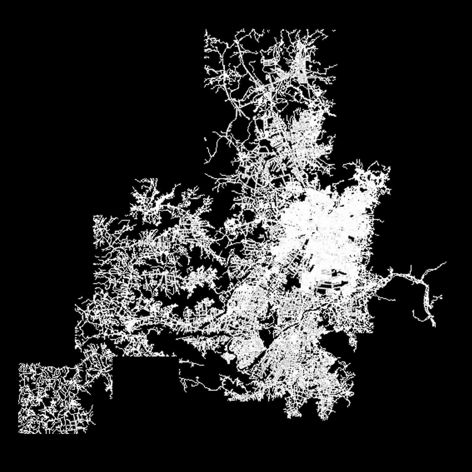 Plano: Región Metropolitana / Vialidad