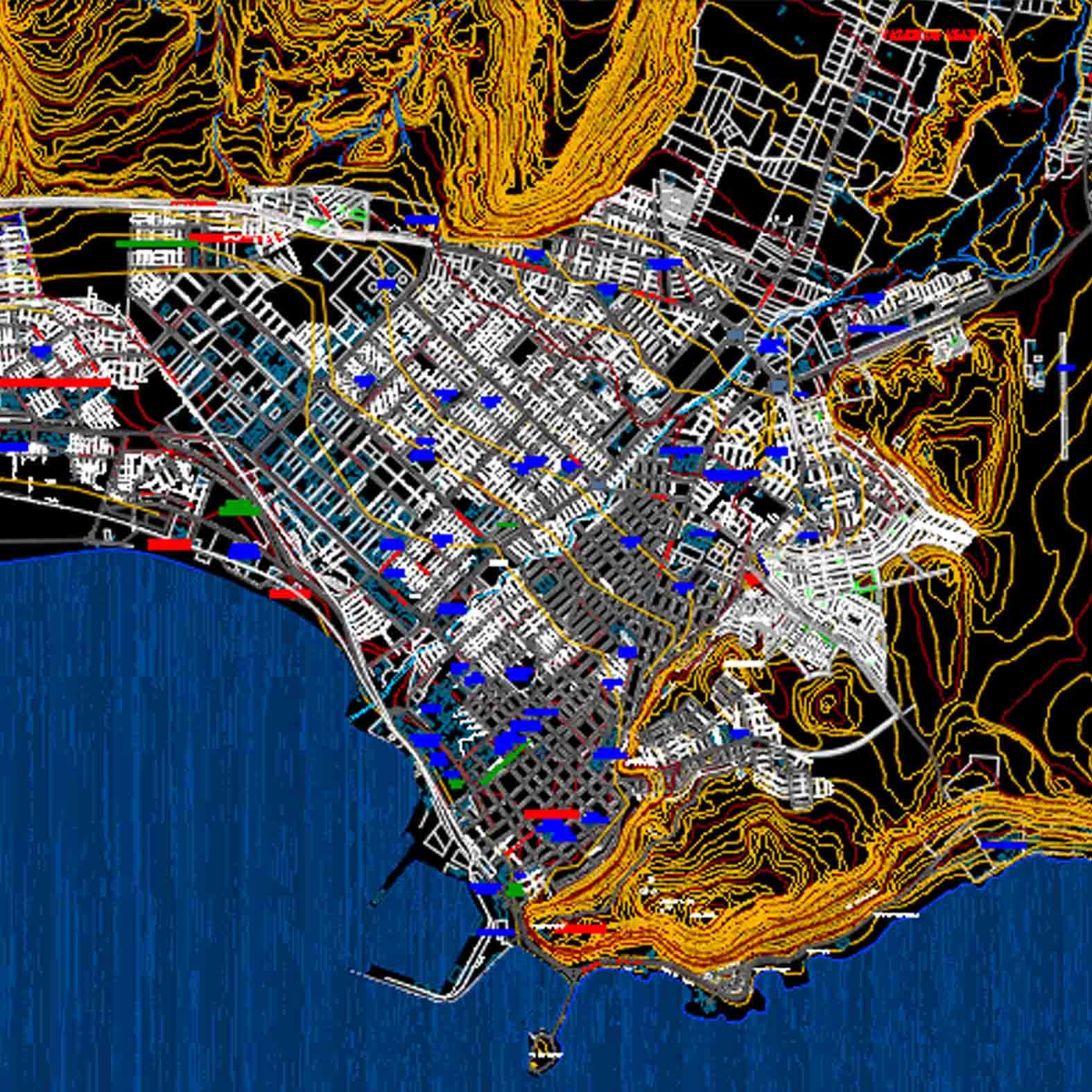 Plano: Ciudad de Arica