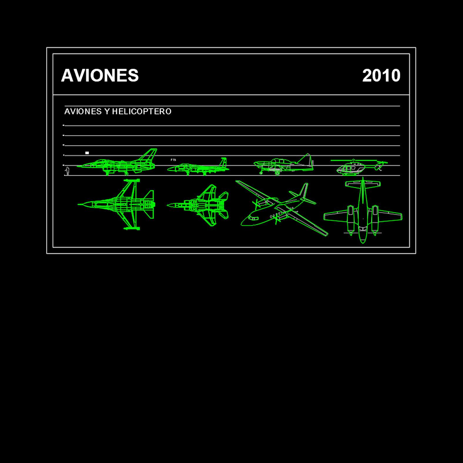 Bloques: Aviones