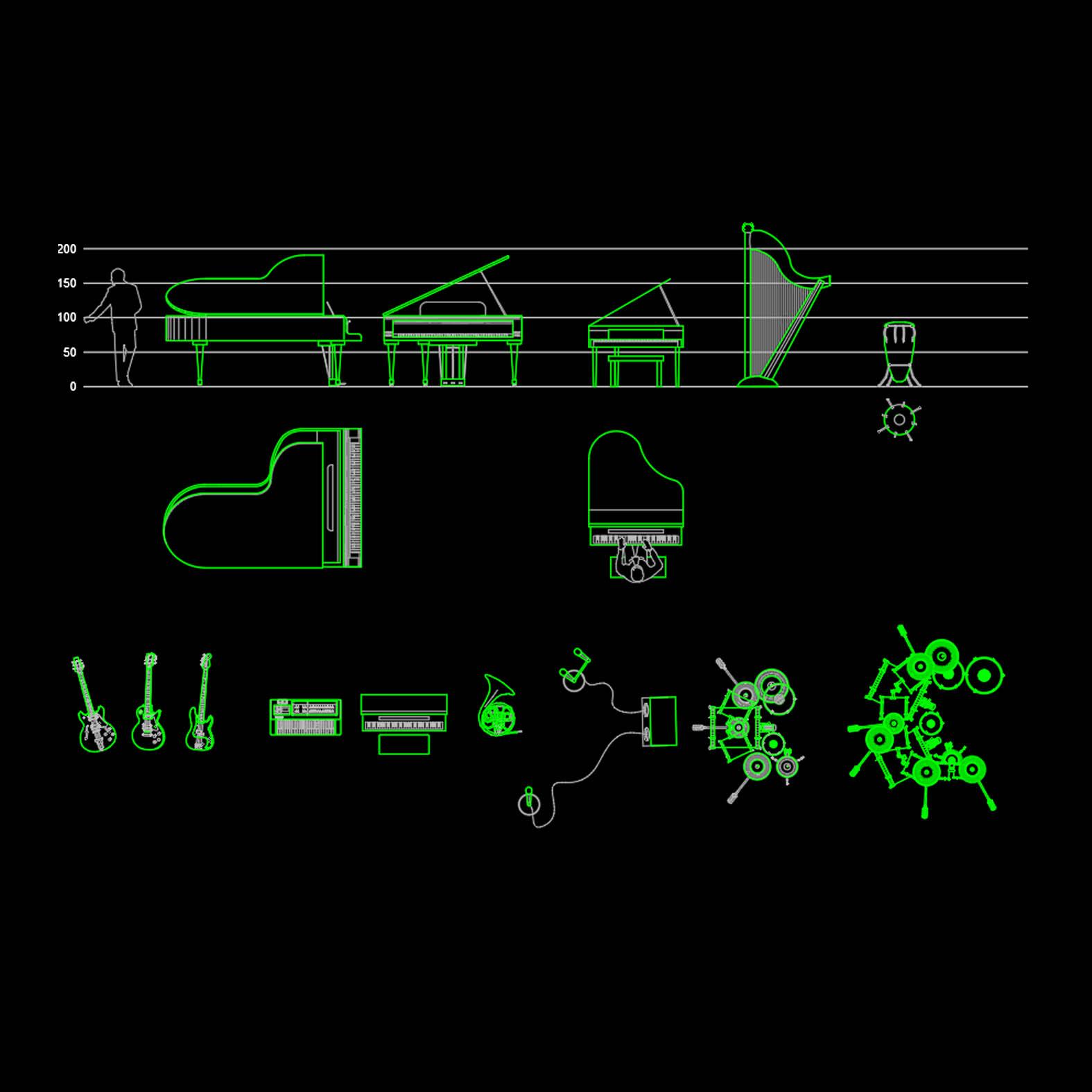 Bloques: Instrumentos Musicales