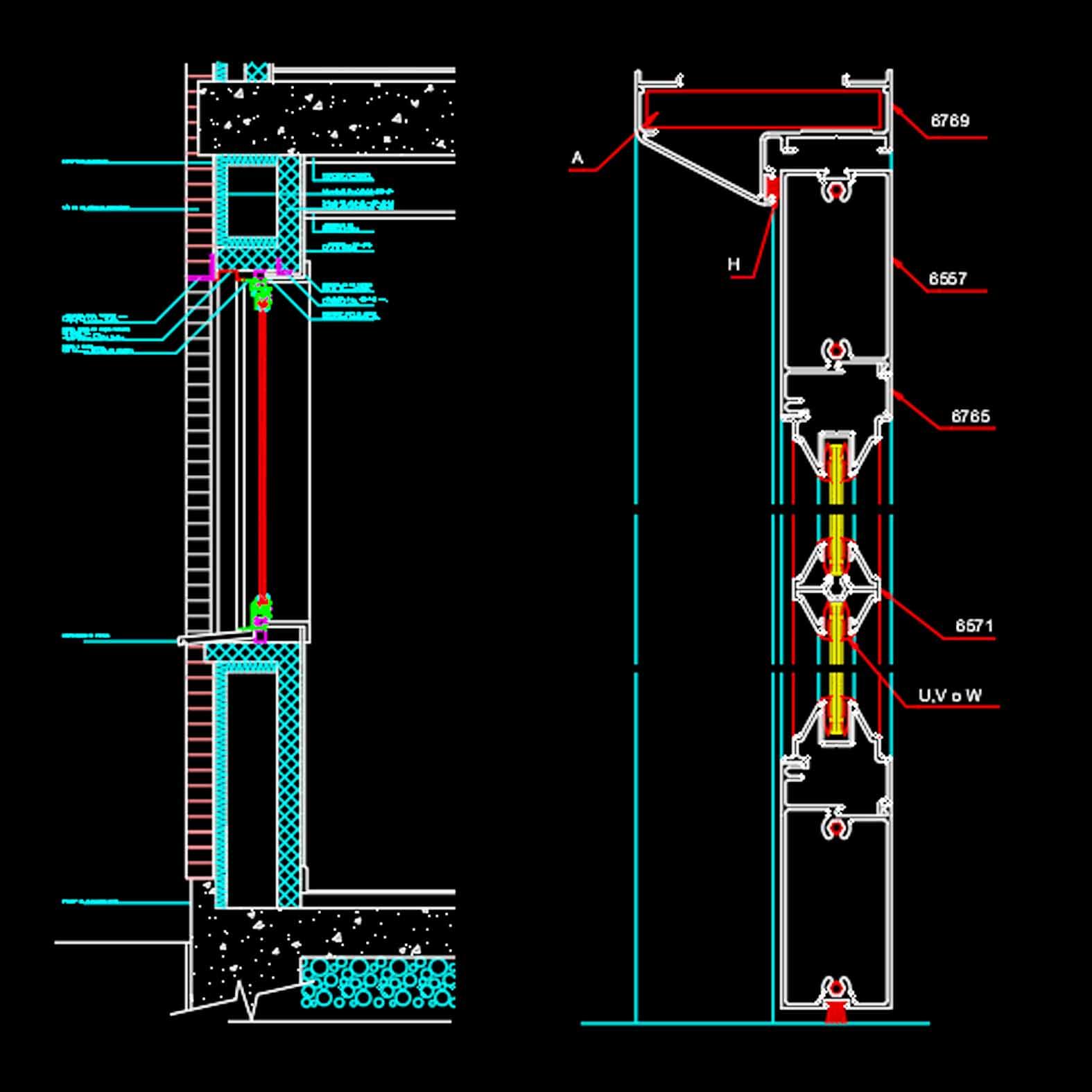 Detalle: Puertas y Ventanas Metálicas