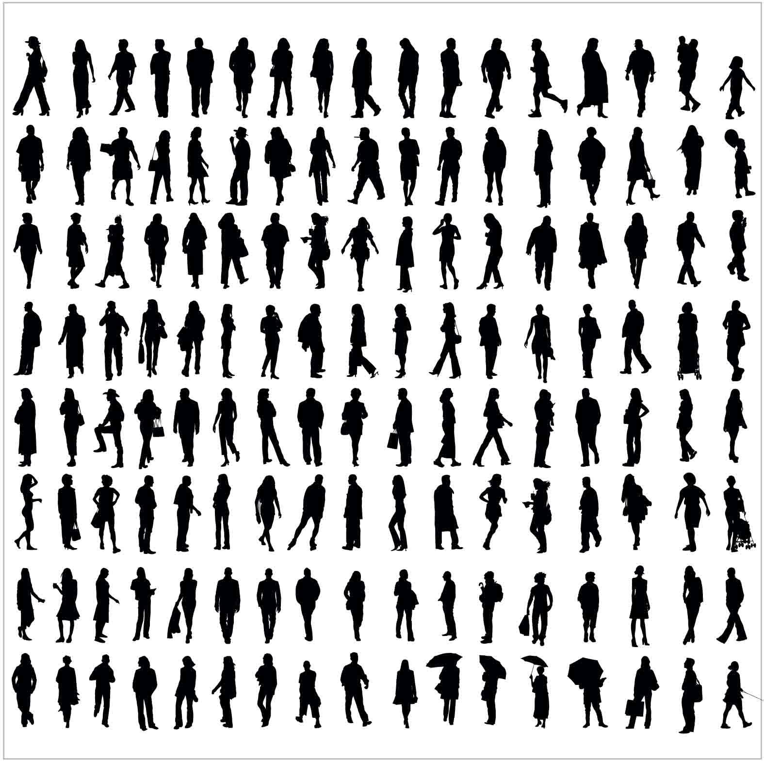 Bloques: Personas / Vectorial