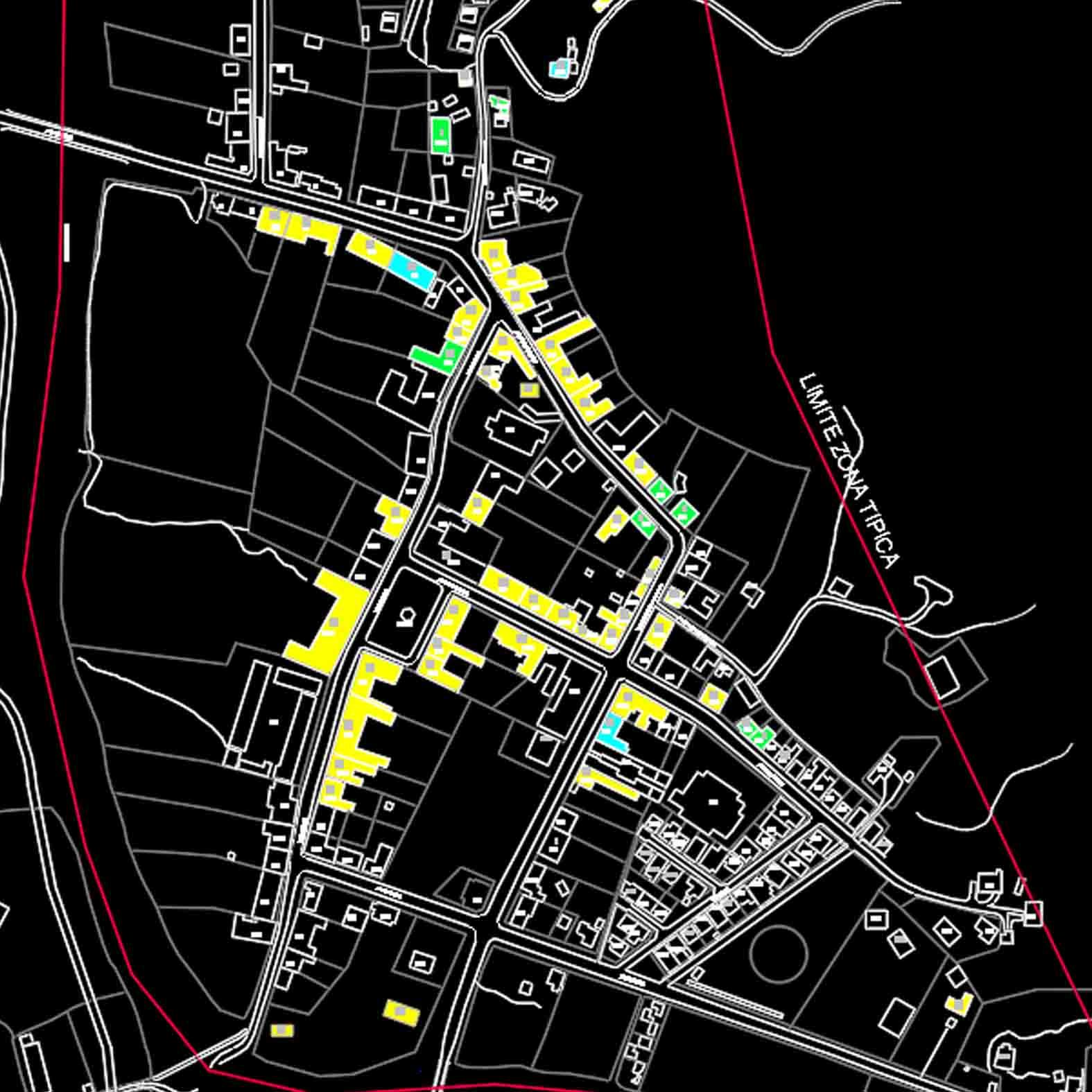 Plano: Circuito de Monumentos de Vichuquen / Zona Típica