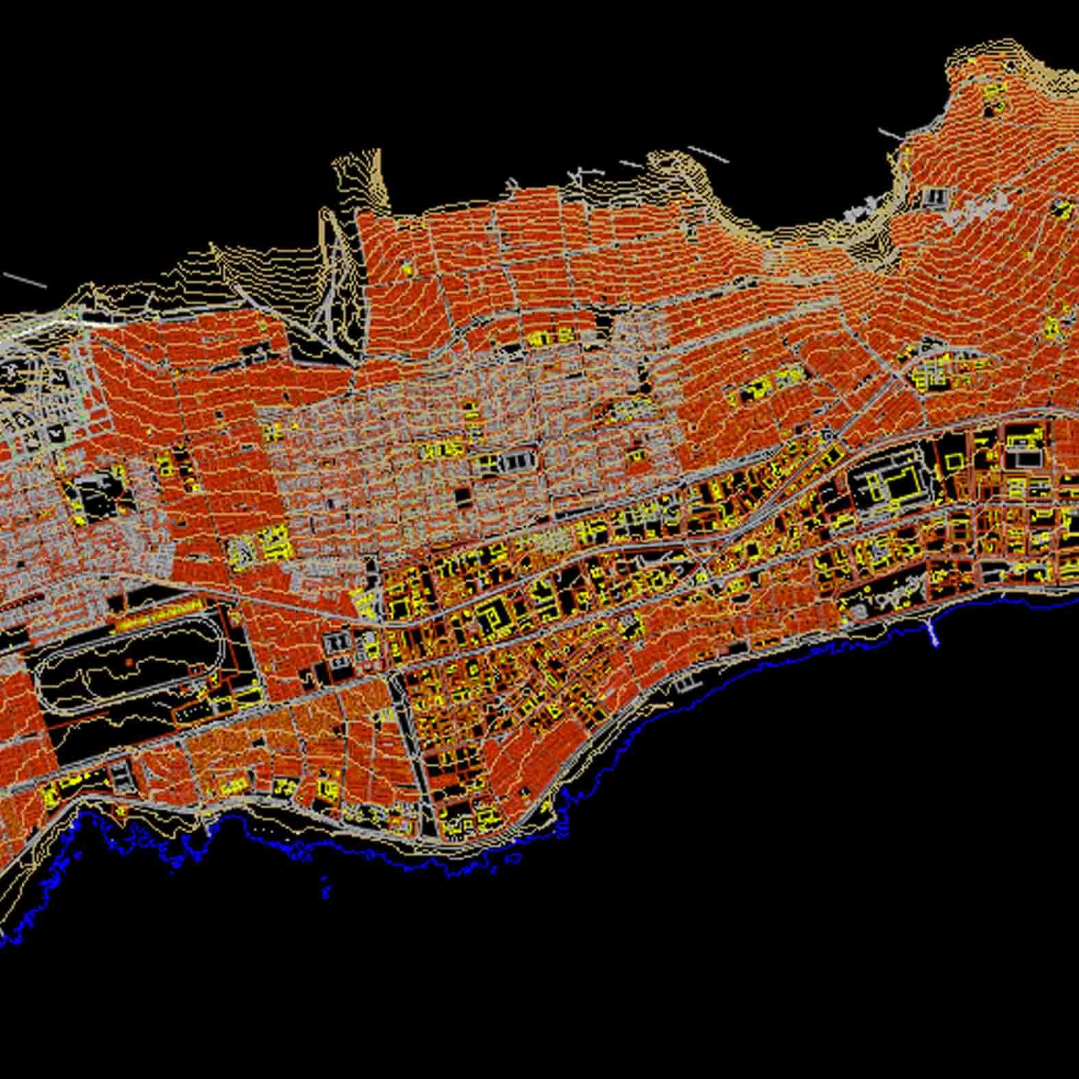 Plano: Ciudad de Antofagasta
