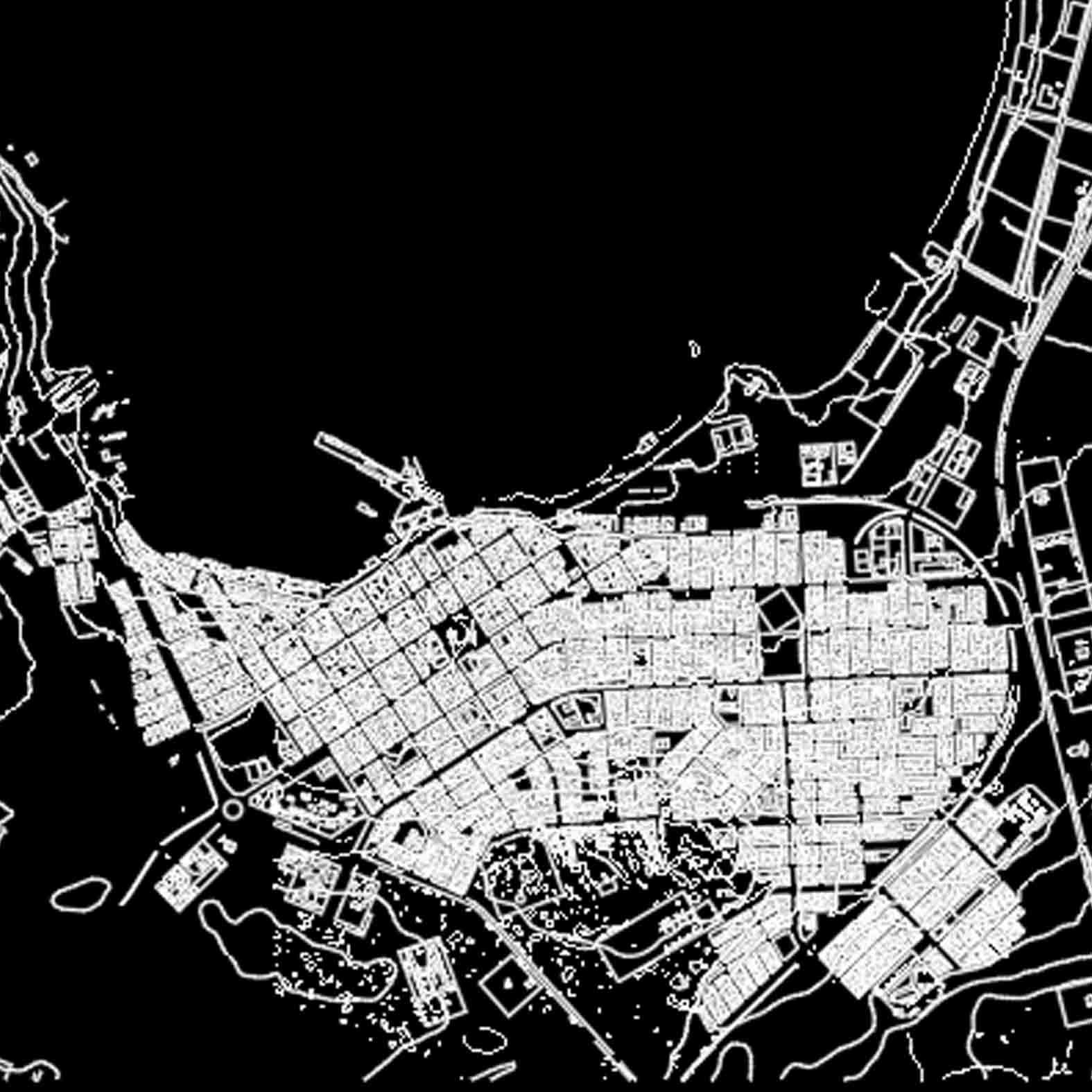 Plano: Ciudad de Caldera