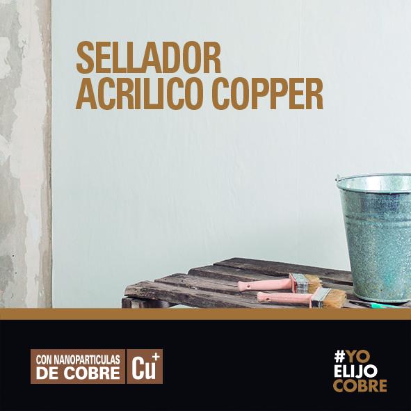 Sellador Acrílico Papel Copper