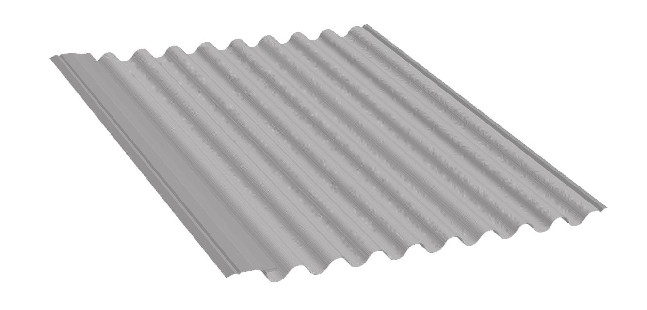 Panel de acero AC-Microondulado