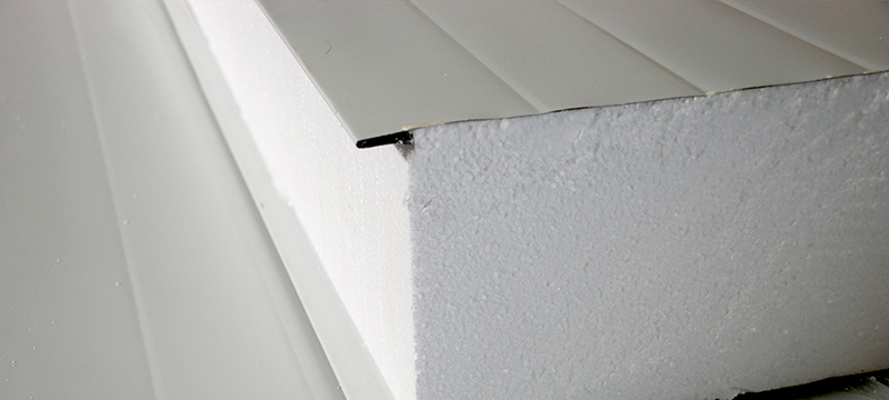 Panel de acero Aislante Muro
