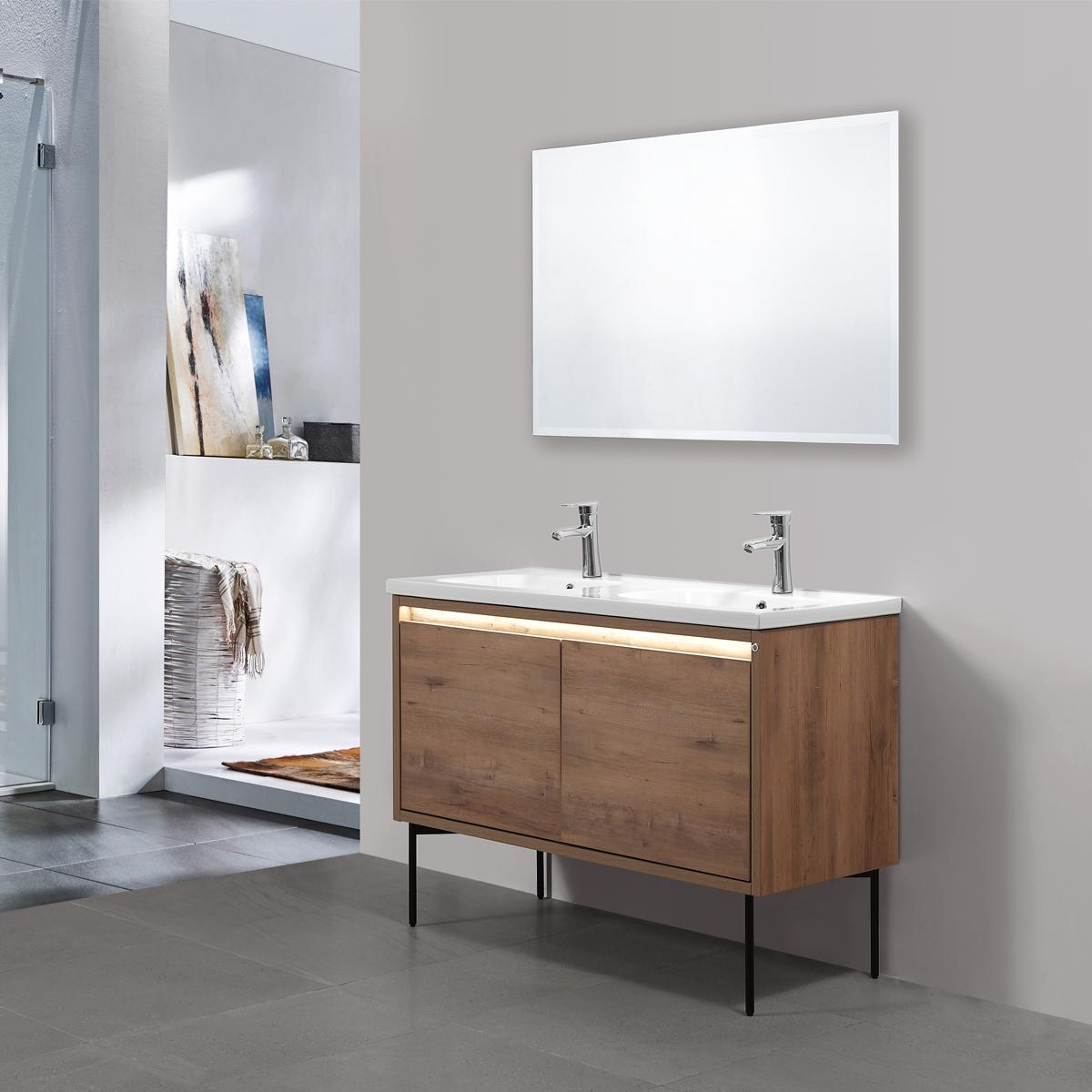 Art Duo | Mueble de baño con luz