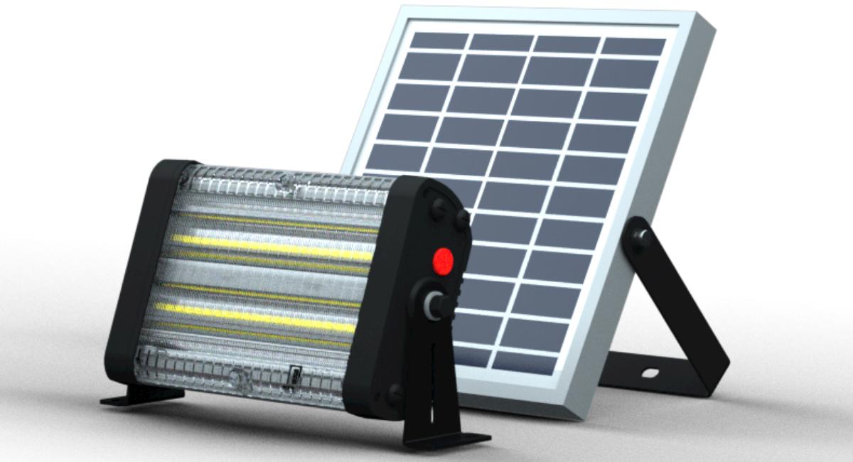 Luminaria Solar Integrada DEC Foco 30