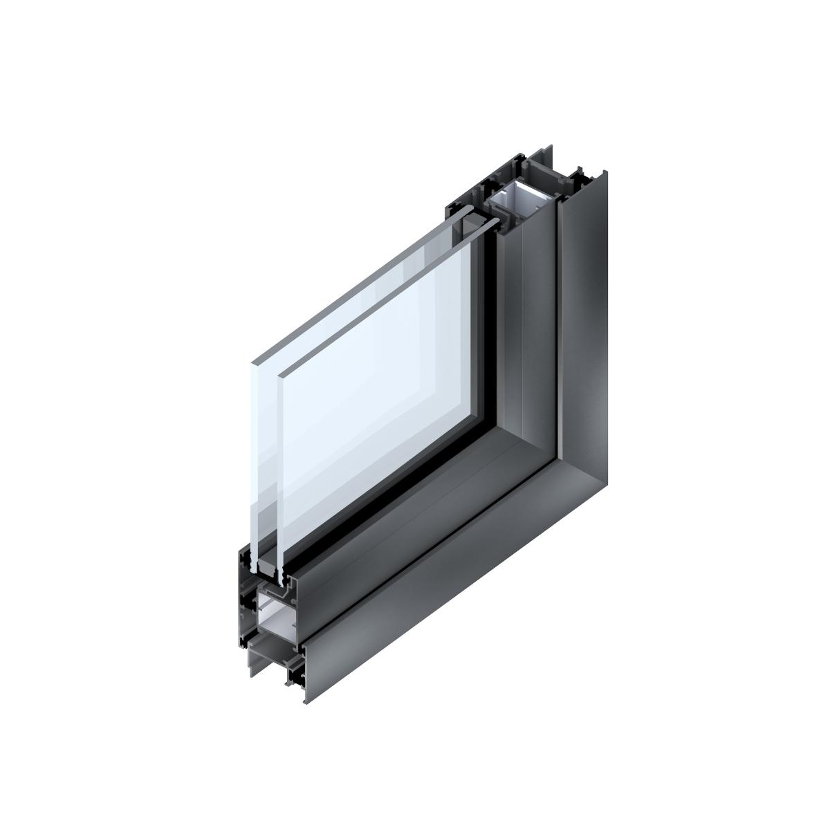 Superior 89 QT: Ventanas de aluminio con quiebre térmico