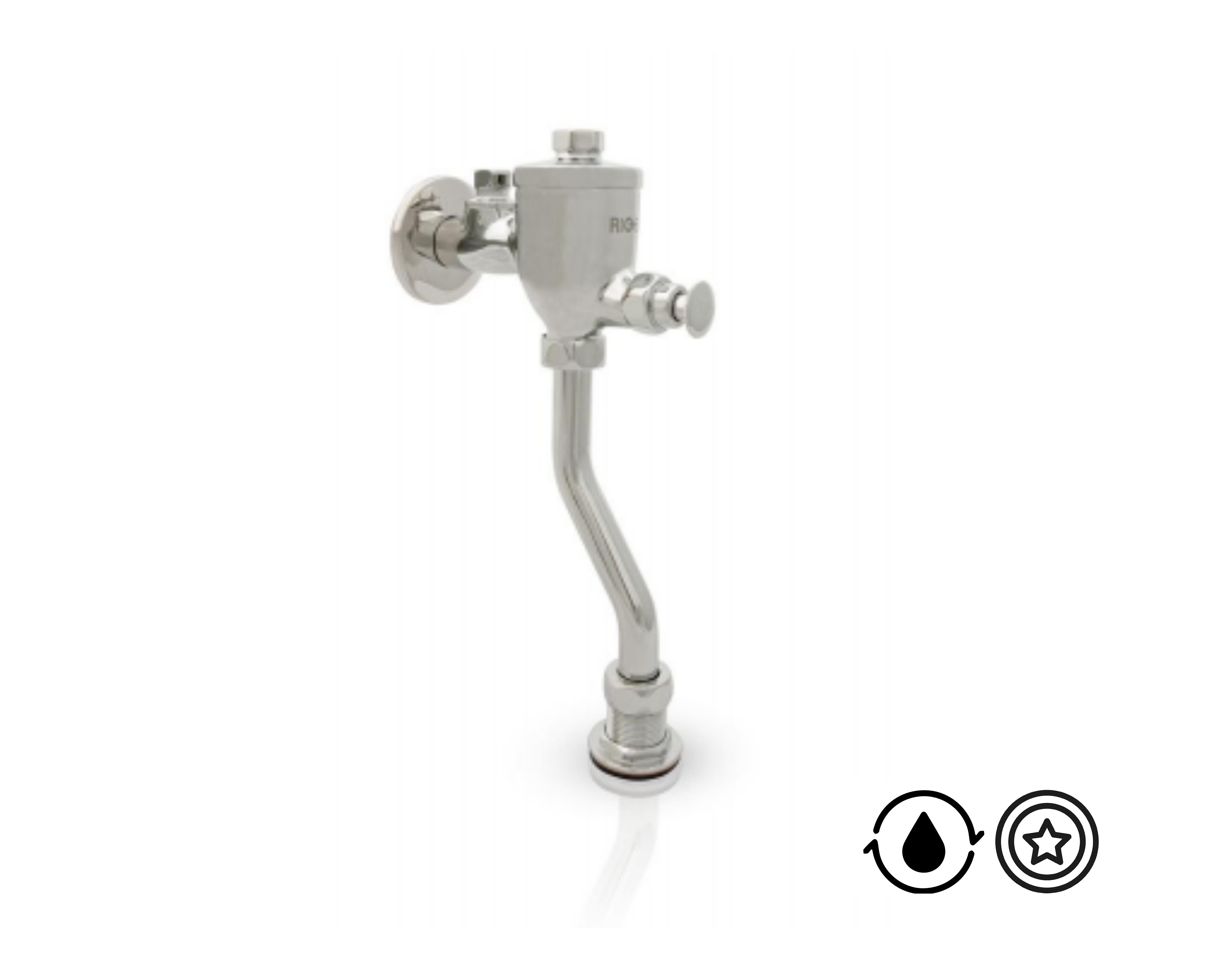Válvula de Descarga Táctil FU102P Rigel