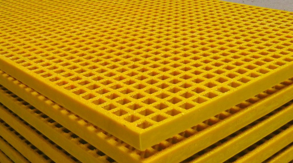Grating o Parrillas de piso de FRP Matgrate®