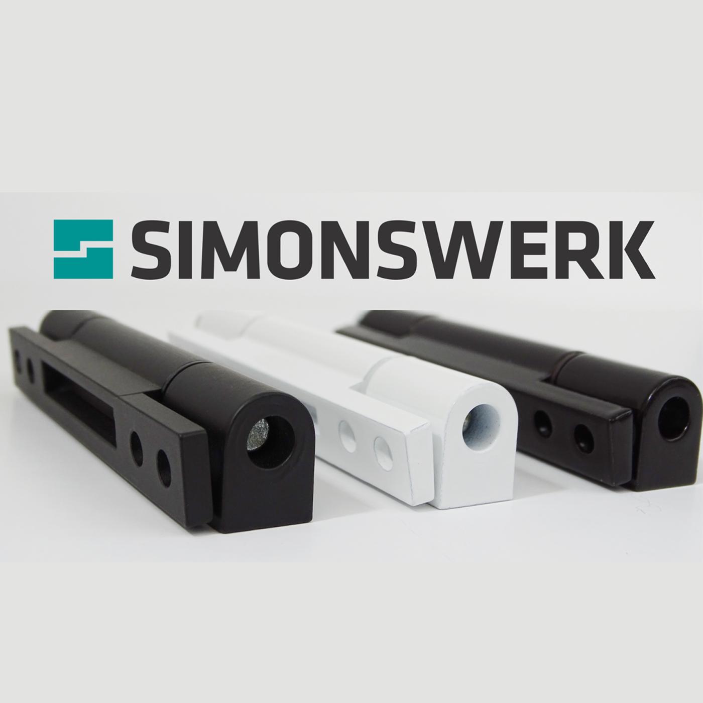 Simonswerk | Bisagras de ventanas de PVC