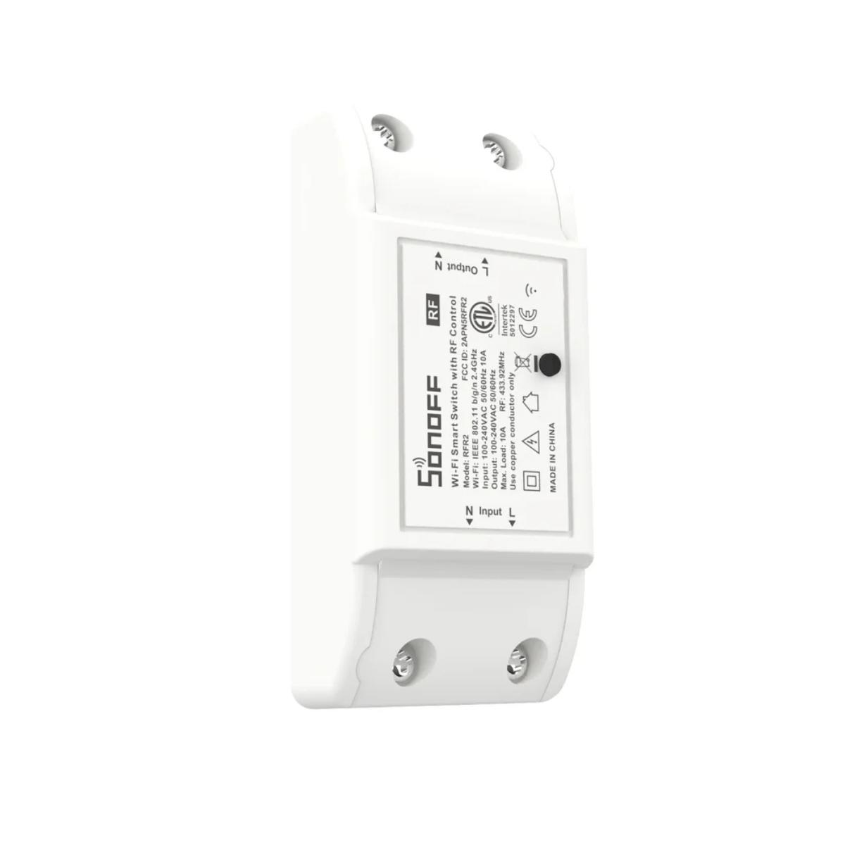 Interruptor DIY Sonoff Basic R2 WiFi + RF
