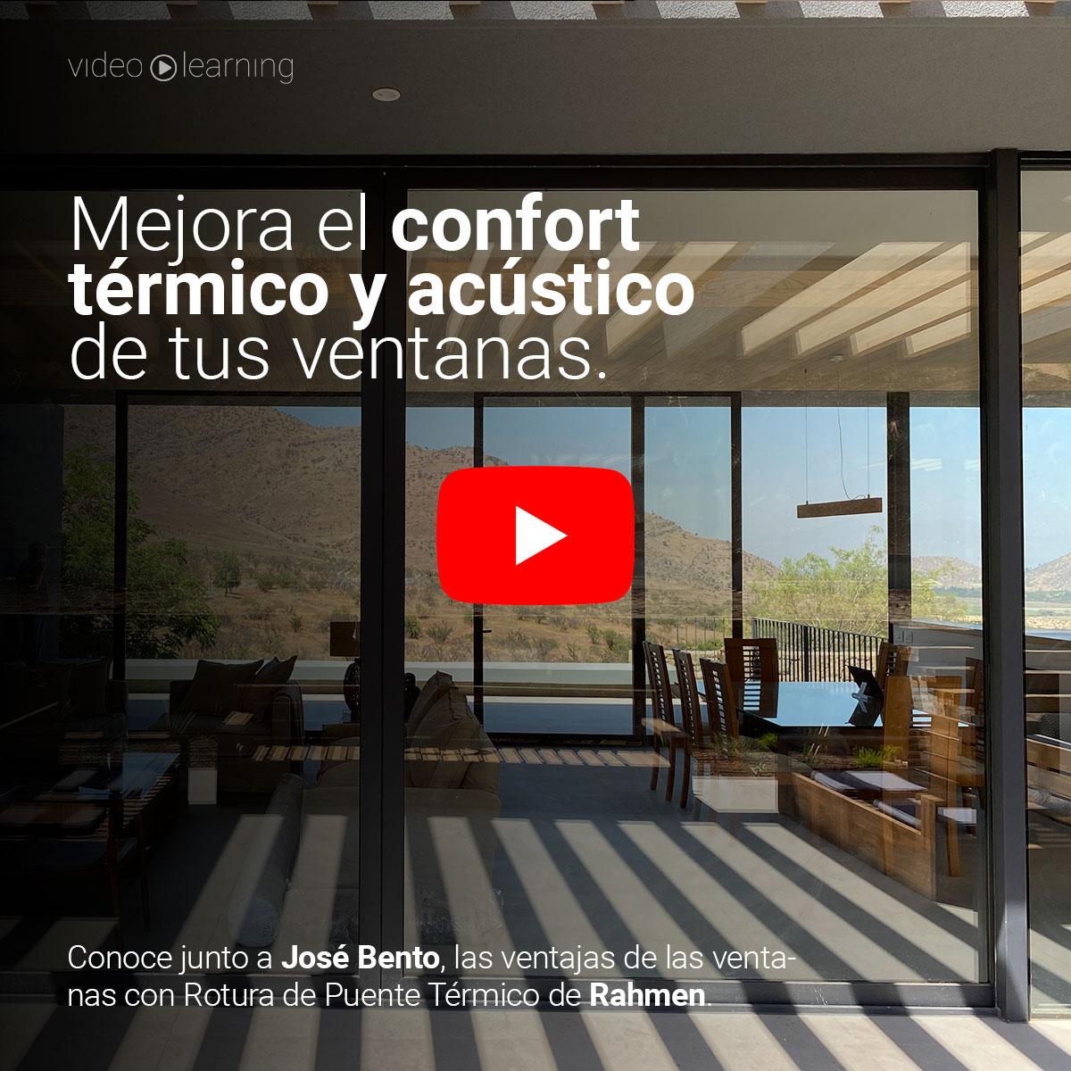 🎬   Mejora el confort térmico interior con Ventanas con Rotura de Puente Térmico