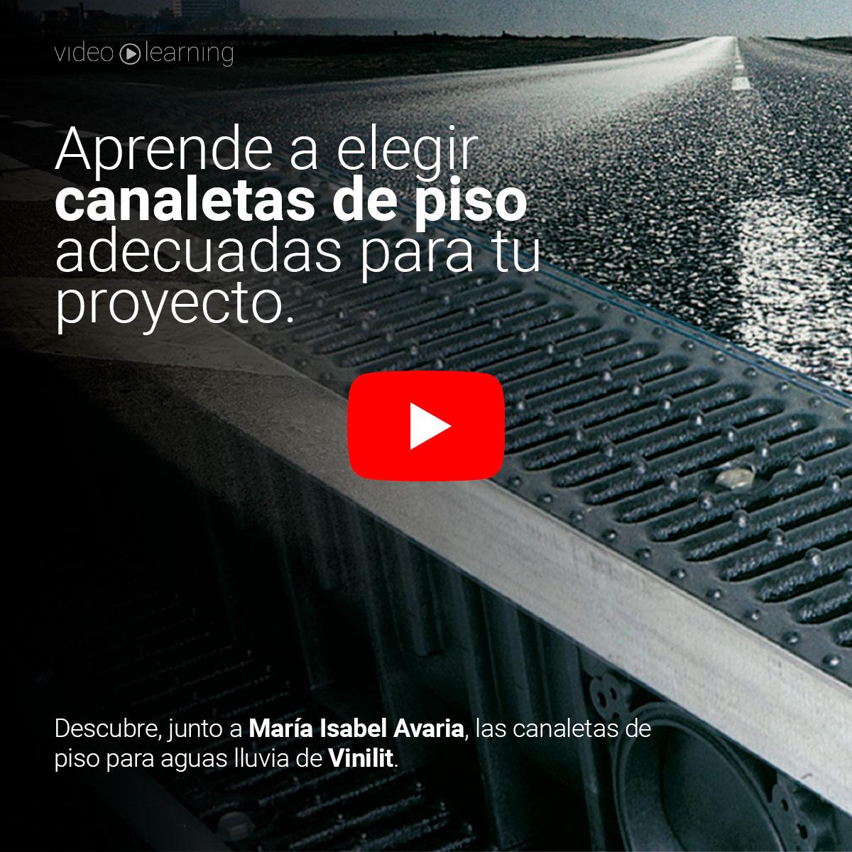 🎬 | Instalación paso a paso de canaletas de piso para aguas lluvias