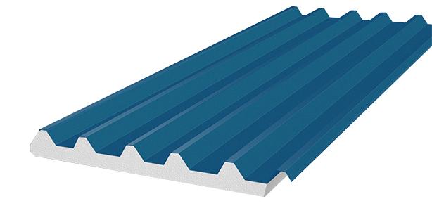 Panel aislante de acero AC-6