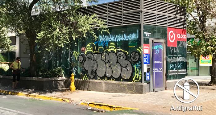 Films para vidrios: Línea Antigraffiti