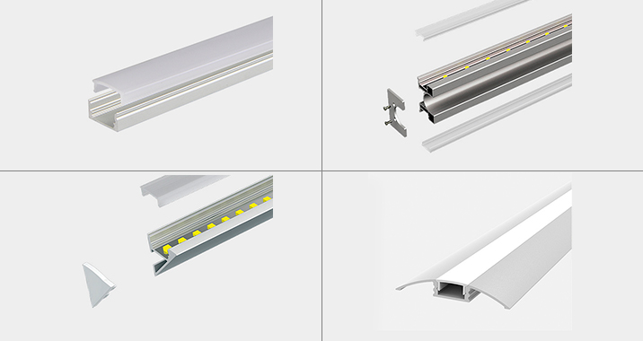 Perfiles para incorporación de cintas LED