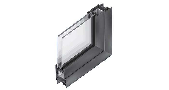 Superior 83 QT: Ventanas de aluminio con quiebre térmico