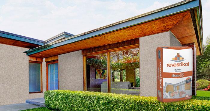 Revestimiento exterior fachada rustica Sistema 4C