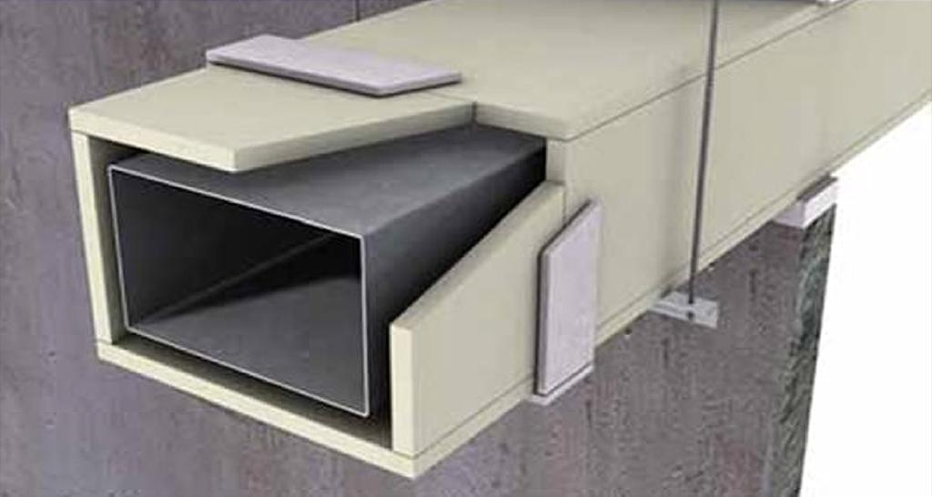 Tecbor® protección de ducto F-120