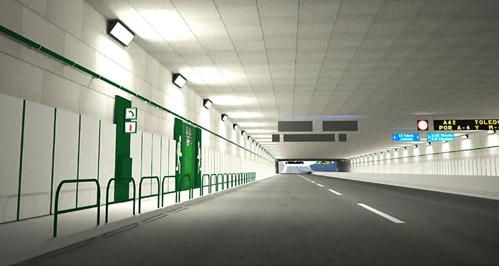 Tecbor® Protección de túneles paneles F-120