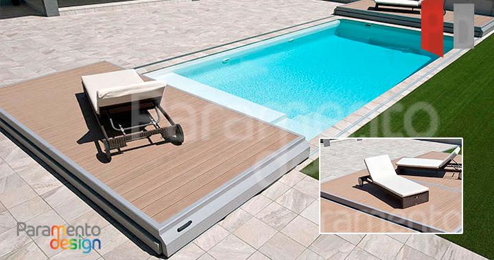 Cubiertas deck deslizantes para piscina