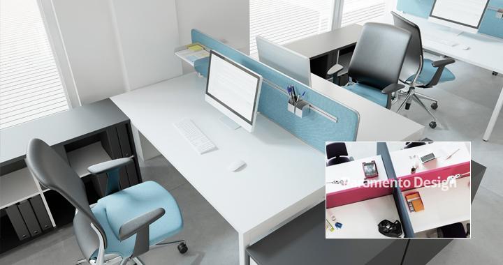 Separadores acústicos de oficina