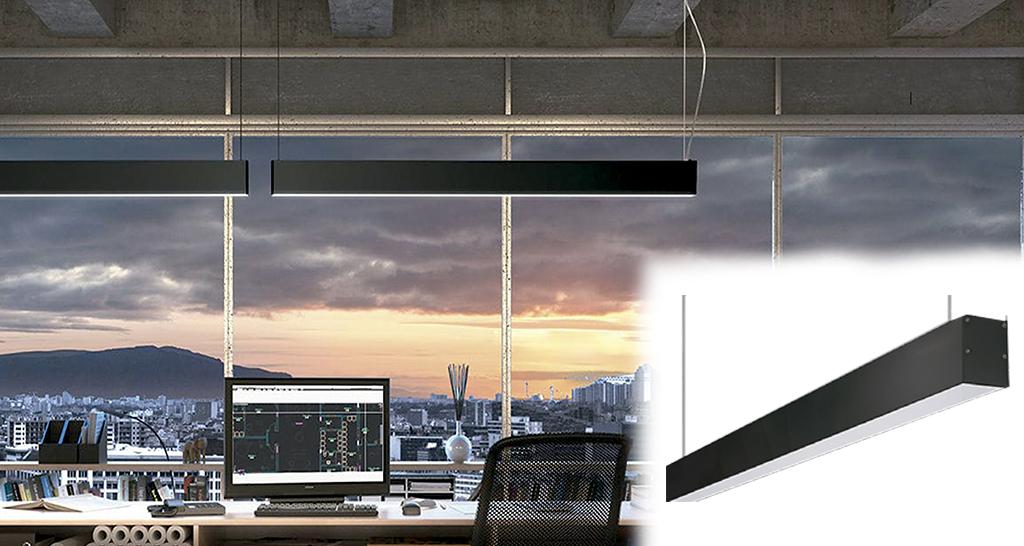 Perfiles de cinta LED Lineal 6070