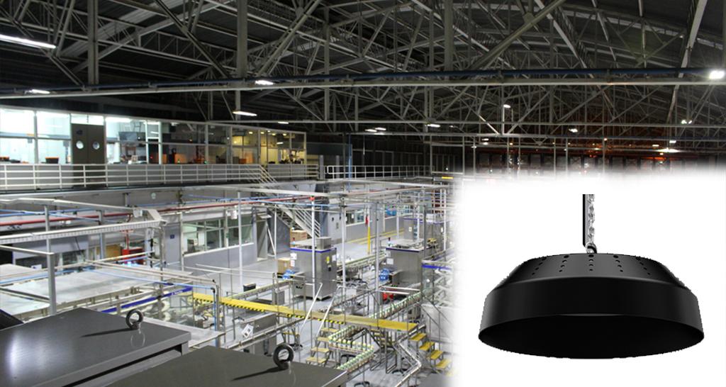 Luminaria colgante UFO