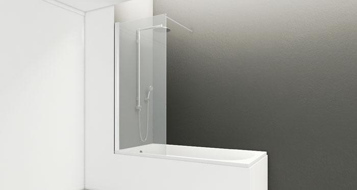 Mampara Kristall Cristal Fijo para Bañera / Wasser