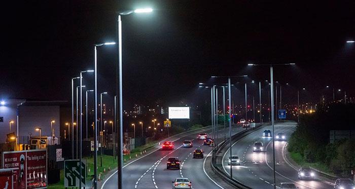 Luminaria led para calles y carreteras Teceo